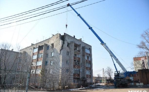 31 марта спасатели продолжат разбирать поврежденный взрывом дом в Ясногорске