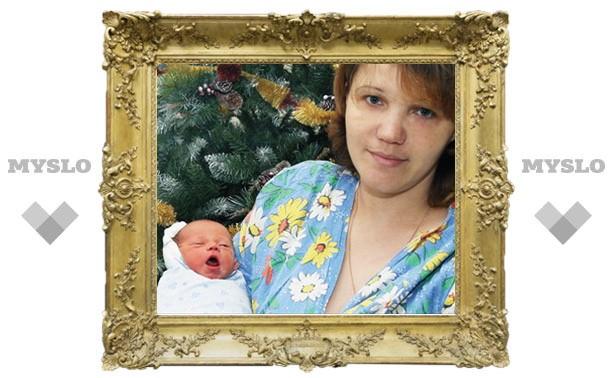 Первый ребенок года – мальчик