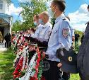 Жуткое ДТП в Суворове: проститься с погибшим полицейским пришли более ста человек