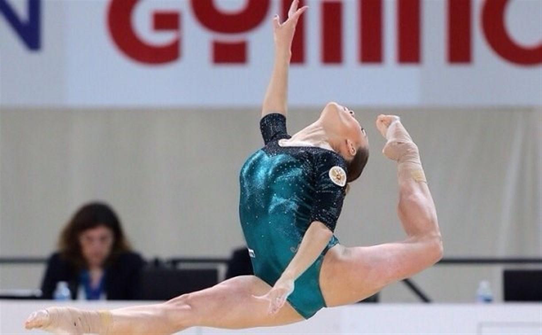 Тульская гимнастка Ксения Афанасьева завоевала золото Чемпионата Европы