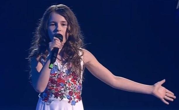 Маша Панюкова из Новомосковска прошла в финал «Голос. Дети»