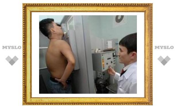 В Туле появился туберкулез