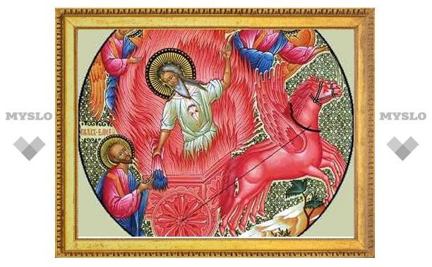 Илья Пророк льдинку в воду бросил