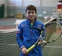 Юный тульский теннисист покоряет столицу