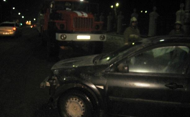 В Заречье столкнулись три автомобиля