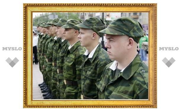"""Тульских призывников проводят на крейсер """"Варяг"""""""
