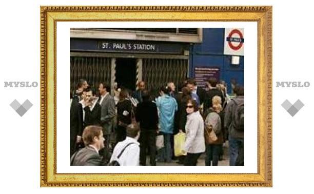 Лондонское метро прекратило работу на трое суток