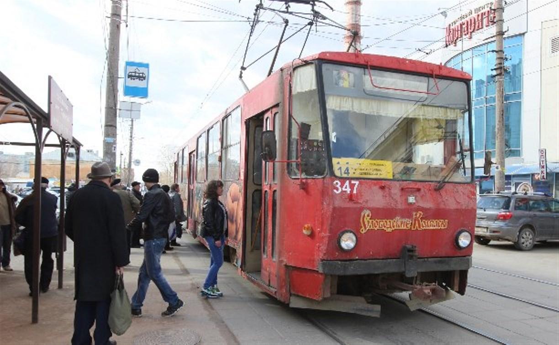 С 13 по 15 мая тульские трамваи и троллейбусы пойдут по изменённому маршруту