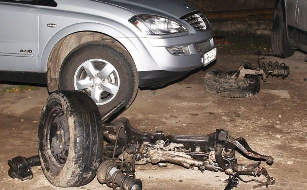 На Одоевском шоссе в ДТП погибли два человека