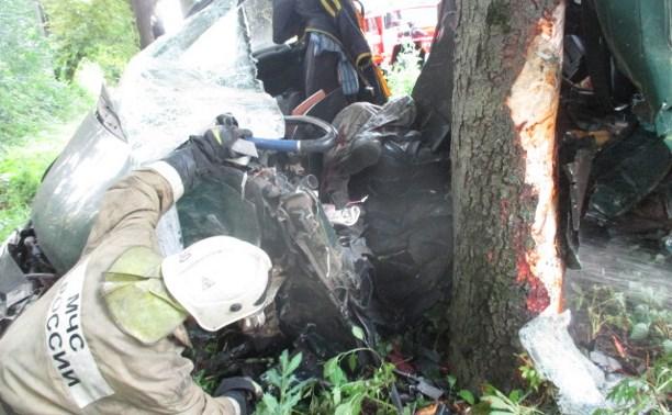 В аварии в Узловой погиб водитель «Газели»
