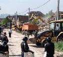 Службы полностью готовы к сносу очередных домов в Плеханово