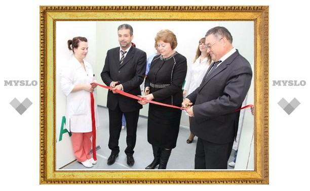 В Новомосковске открыли новое рентген-отделение