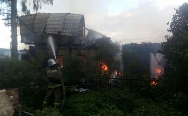 В Туле на пожаре погиб мужчина