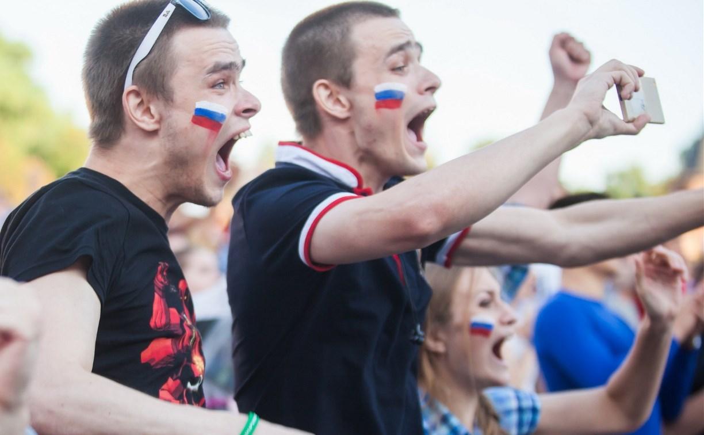 Как Тула праздновала победу сборной России над Испанией. Фоторепортаж