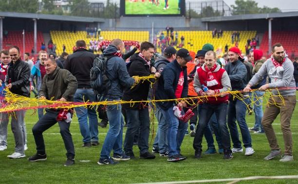 Последствия матча со «Спартаком»: ущерб тульскому стадиону оценили в 1 млн рублей