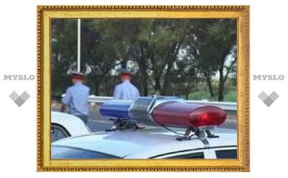 Пьяного водителя в Туле задерживали со стрельбой
