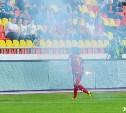 Тульский «Арсенал» оштрафовали на 16 тысяч рублей за брошенный фанатами фаер