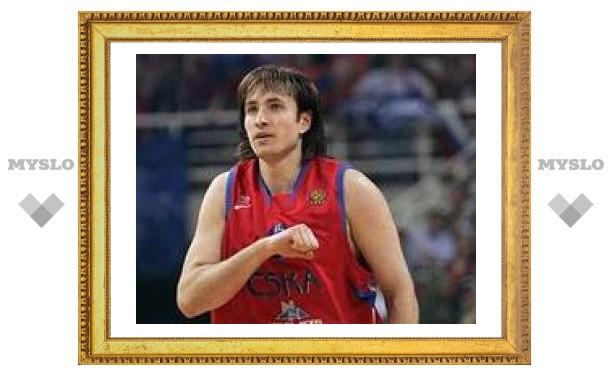 Баскетболист ЦСКА согласился сыграть на чемпионате Европы