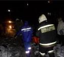 Сотрудники МЧС спасли упавшего в Воронку пьяного мужчину