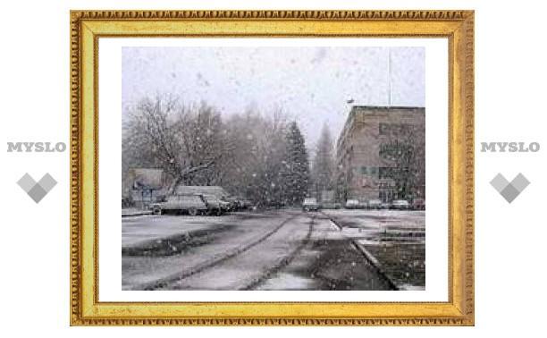 В среду в Туле снег с дождем