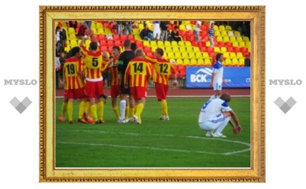 Тульский «Арсенал» в Лисках начал игру с местным «Локомотивом»