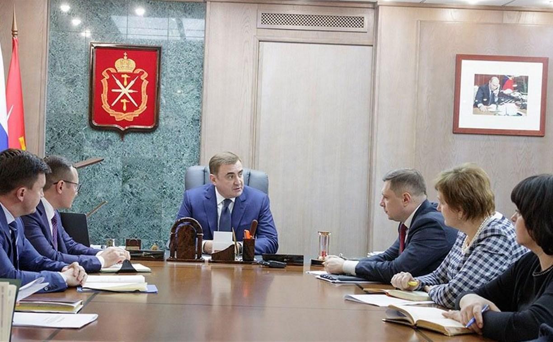 Алексей Дюмин поручил областному правительству оперативно включиться в решение задач, поставленных Владимиром Путиным