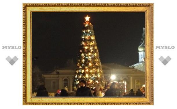 3 декабря тульская елка будет готова к открытию