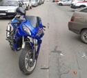 В Новомосковске мотоцикл попал в ДТП