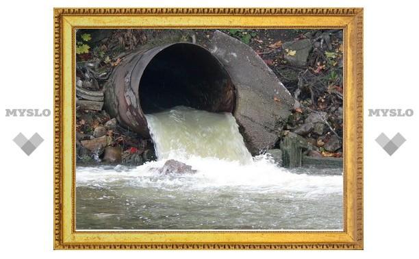 В колонии под Тулой канализацию сливали в реку