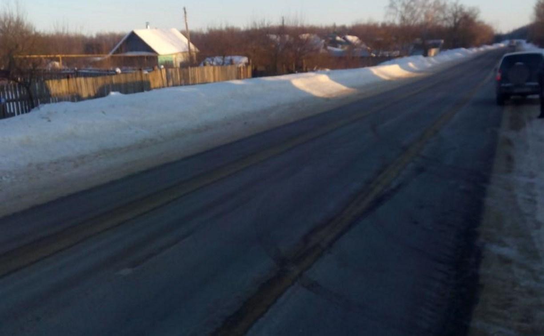 В Тульской области 8-летняя девочка попала под колеса автомобиля