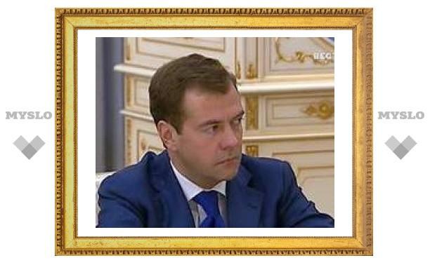 Медведева готово поддержать больше россиян, чем Путина