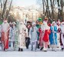 В Туле прошла Битва Дедов Морозов
