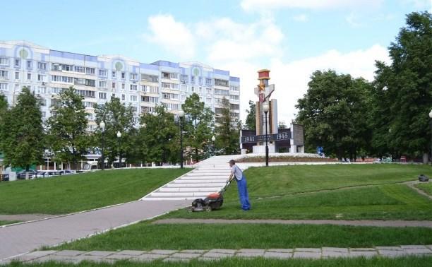В Пролетарском территориальном округе ведутся работы по благоустройству