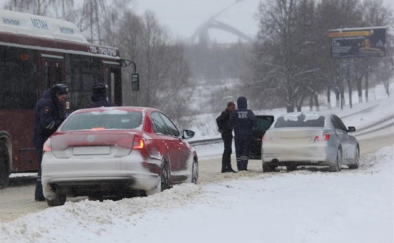 ГИБДД призывает тульских водителей к осторожности на дорогах