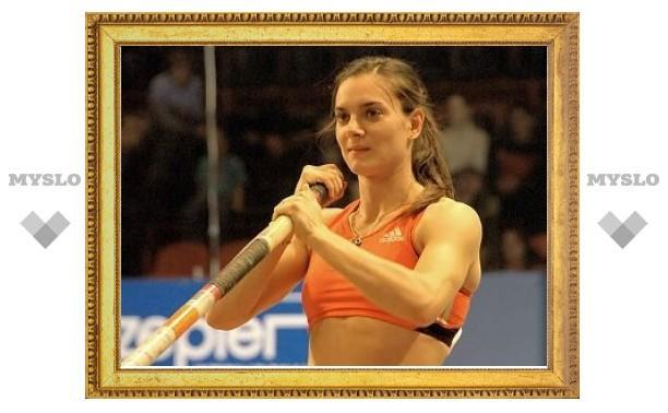 Елена Исинбаева заключила пари с тренером