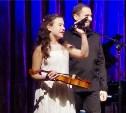 Юная тульская скрипачка получила подарок из рук Дмитрия Когана