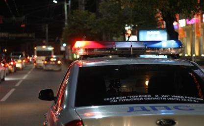 В Узловой полицейский сбил пешехода