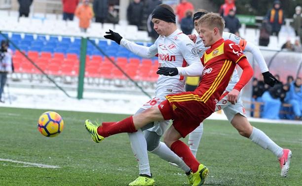 Молодежка «Арсенала» сыграла вничью со «Спартаком»
