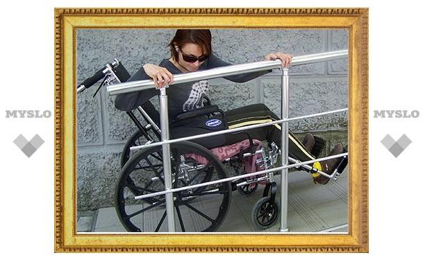 В Туле проживают около 400 инвалидов-колясочников