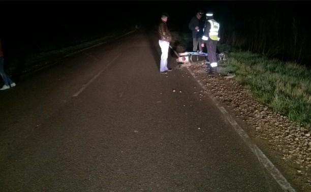 На дороге «Тула-Белёв» произошло смертельное ДТП с участием двух мотоциклов