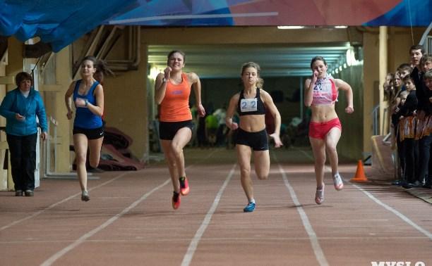 Юные тульские легкоатлеты выступили на первенстве России