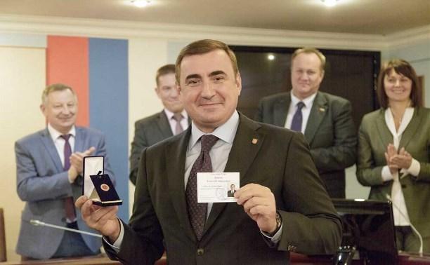 Сегодня состоится инаугурация губернатора Тульской области Алексея Дюмина