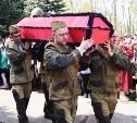 Новомосковские полицейские приняли участие в захоронении останков воинов Красной Армии