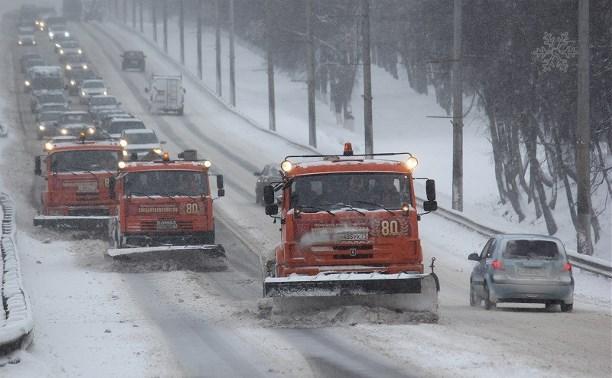 В уборке Тулы от снега было задействовано 223 единицы техники