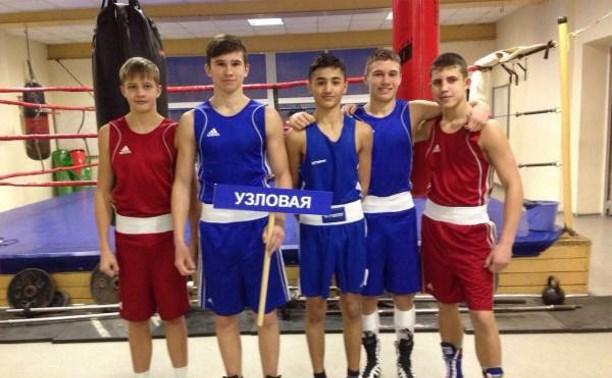 Узловские боксёры привезли две медали из Тамбова