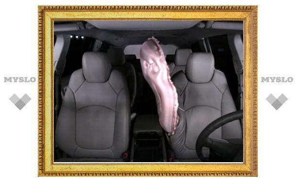 Концерн GM разработал новый вид подушек безопасности