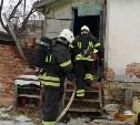 Во время пожара в Дубне погиб мужчина