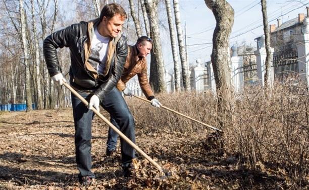Владимир Груздев навел порядок в Комсомольском парке
