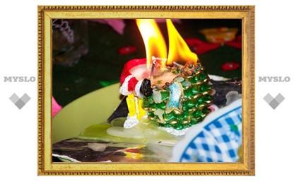 Туляк погиб на пожаре в Новый год