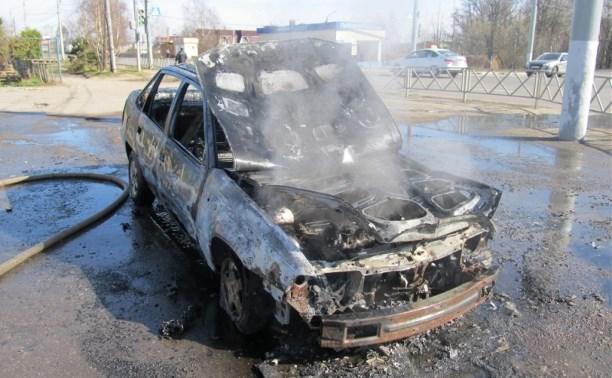 Утром в Заречье сгорел «Дэу»
